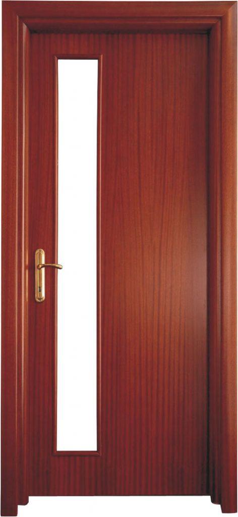 Usa de interior din lemn cu geam model A22