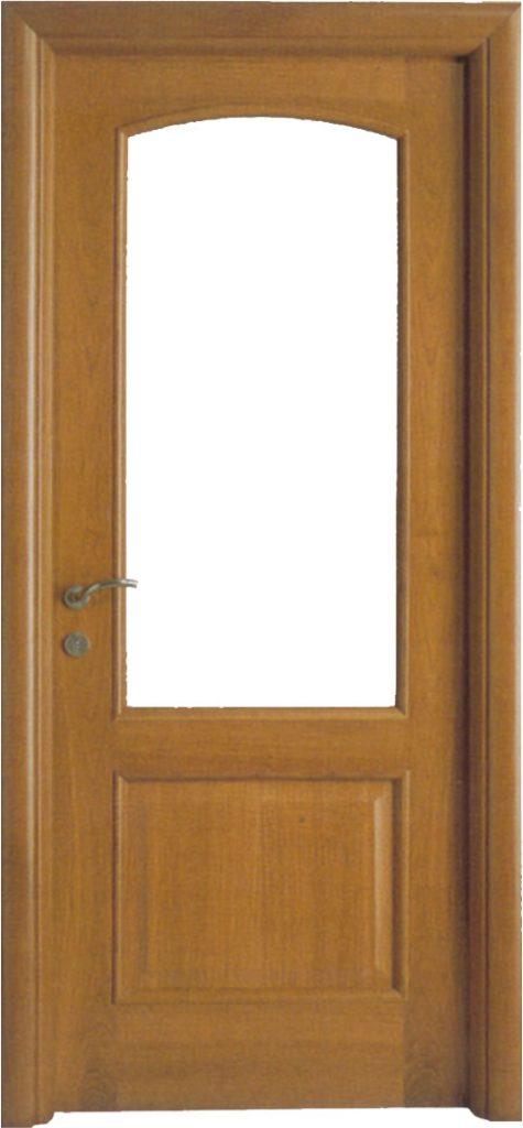 Usa de interior din lemn cu geam model A52