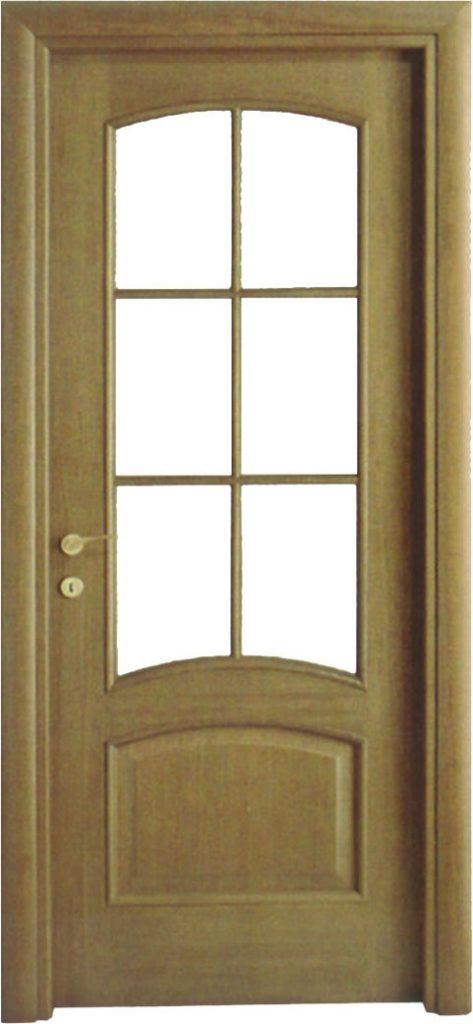 Usa de interior din lemn cu geam model A83-2