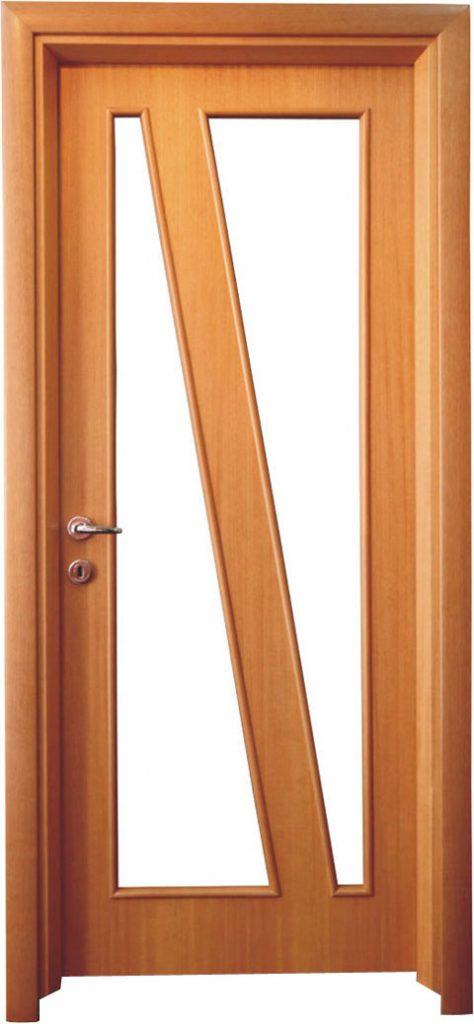 Usa de interior din lemn cu geam model ASP2-3